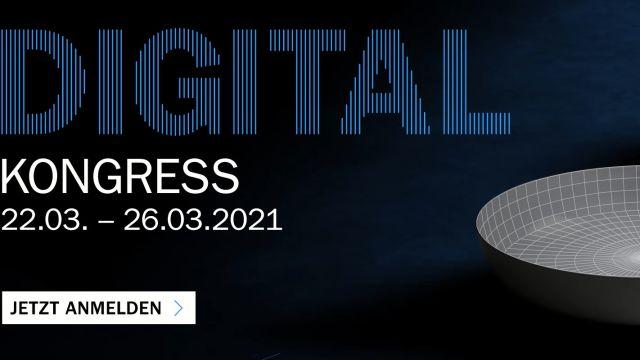 Das Bild zeigt einen Screenshot vom DIGITAL-Kongress 2021.
