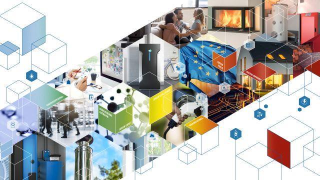 Das Bild zeigt das Werbebanner zum Technologie- und Energie-Forum des BDH.