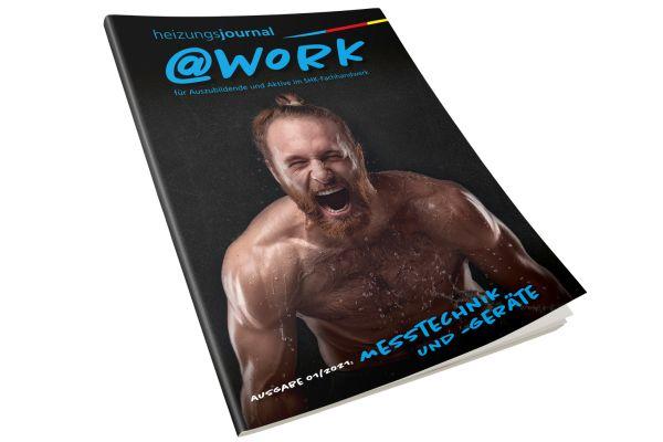 """@work - Thema """"Messtechnik und -geräte"""" @work 01/2021"""