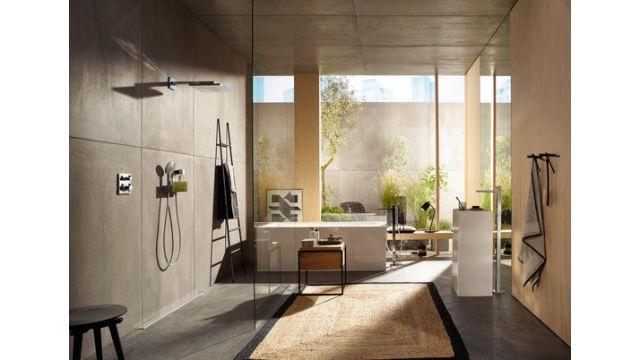 Ein harmonisches Gesamtkonzept im Badezimmer ist für fast 60 Prozent der Bundesbürger wichtig, um entspannen zu können.