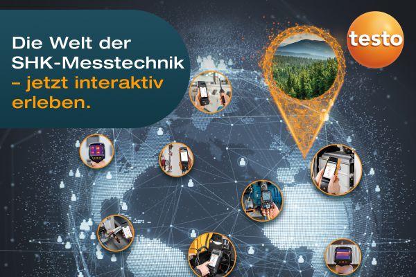 Die Welt der SHK-Messtechnik – ab dem 22.03. interaktiv erleben.