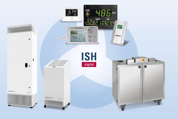 ISH digital: Frische Luft von Airflow