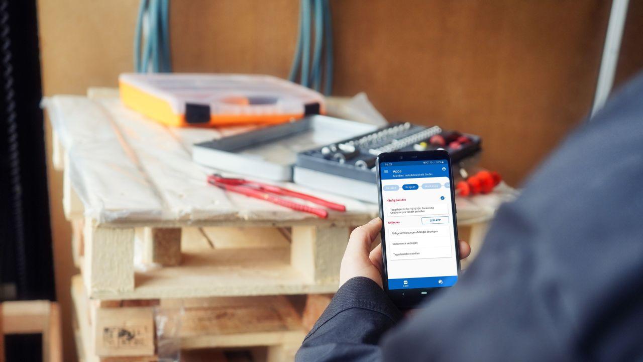 Projekt App und digitales Bautagebuch