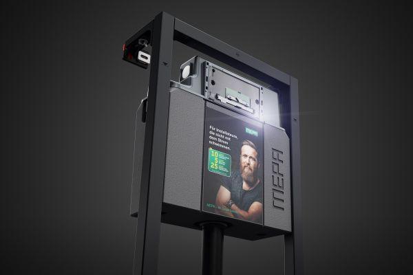 Neue Vorwand-Generation: MEPA nextVIT - mit innovativen Details zu mehr Montagefreundlichkeit