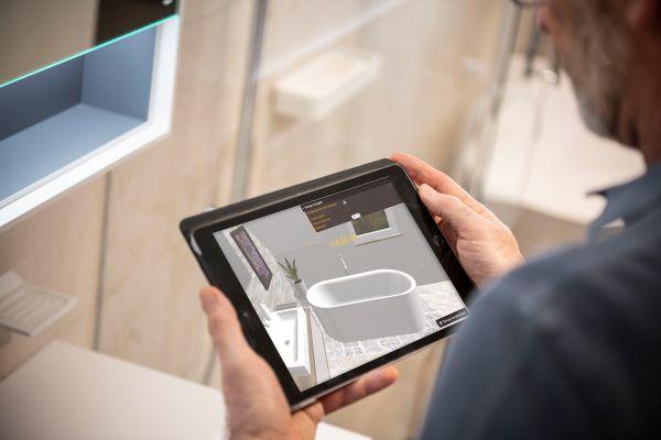 Mit dem Palette CAD Web Viewer werden Messungen blitzschnell und bequem auf Mobilgeräten durchgeführt.