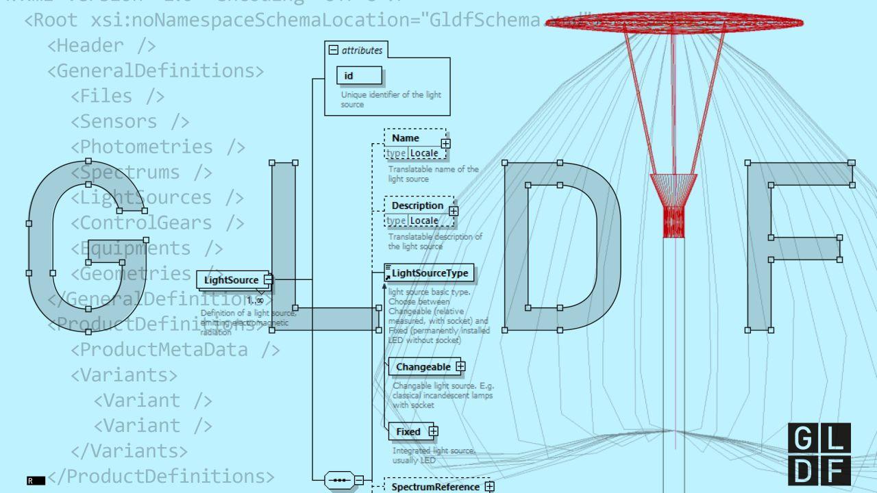 Einheitliches Datenformat für die Lichtindustrie