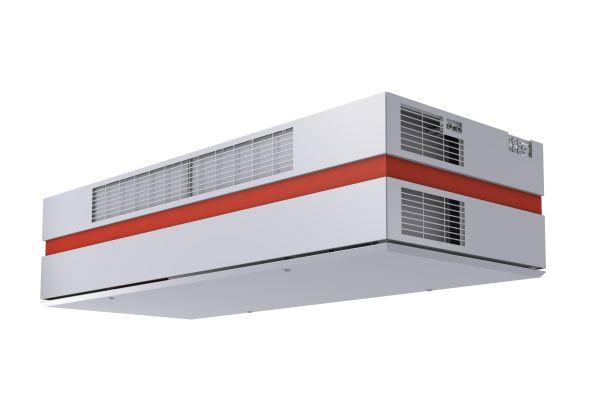 """Das dezentrale Lüftungsgerät """"VEX308"""" – ein kompaktes Zu- und Abluftgerät mit Wärmerückgewinnung – wurde speziell für den Einsatz in Klassenzimmern entwickelt."""