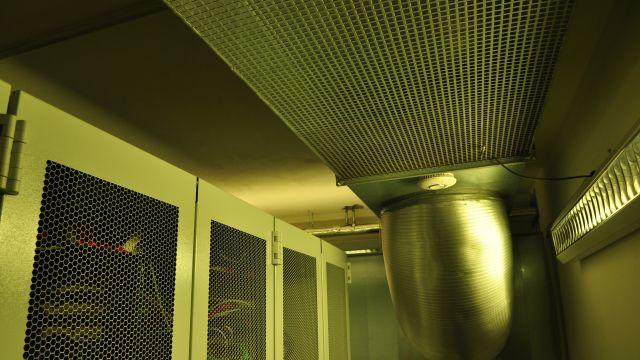Foto: Serverraumkühlung mit Luft/Wasser-Wärmepumpe bei MHC.