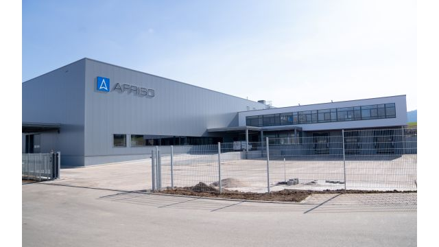Das Bild zeigt das neue Logistikzentrum.