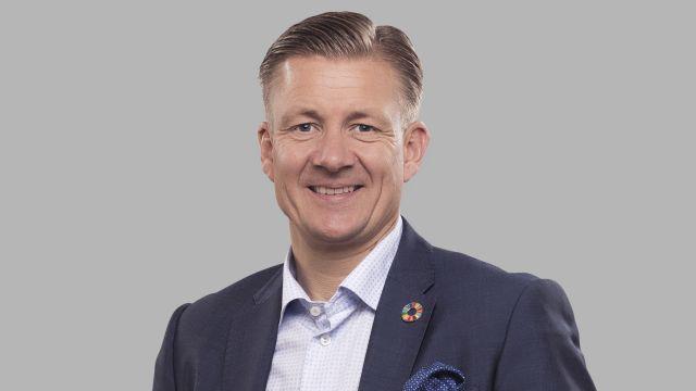 Das Bild zeigt Poul Due Jensen, Konzernpräsident von Grundfos.