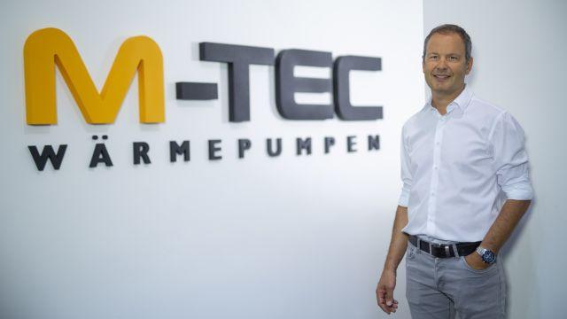 Foto: Peter Huemer, Geschäftsführer M-TEC.