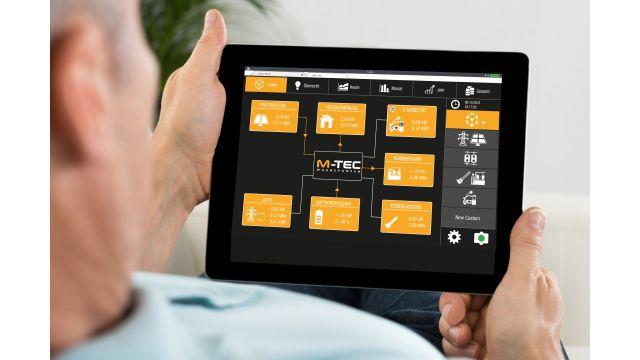"""Foto: Energiemanagementsystem """"E-Smart"""" - Überblick für den Anwender."""
