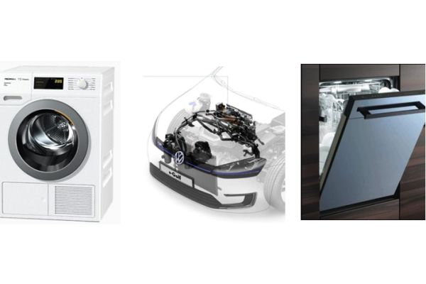 Waschmaschine, E-Auto, Geschirrspüler – die Türöffner für die Wärmepumpe auch als Hausheizung.