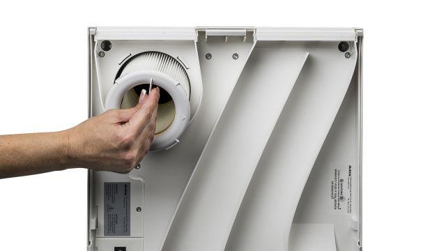Das Bild zeigt den Hochleistungsfilter.
