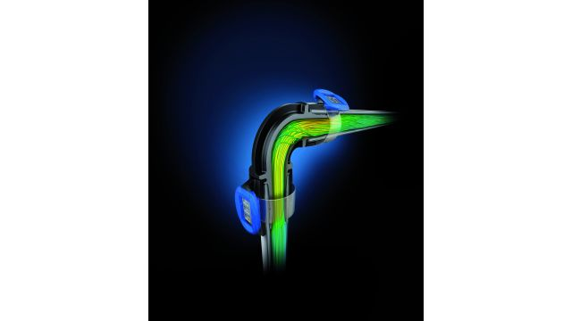 """Eine aufeinander abgestimmte und verbesserte Rohr- und Fittinggeometrie sorgt bei """"FlowFit"""" für einen optimierten Durchfluss und geringere Druckverluste."""