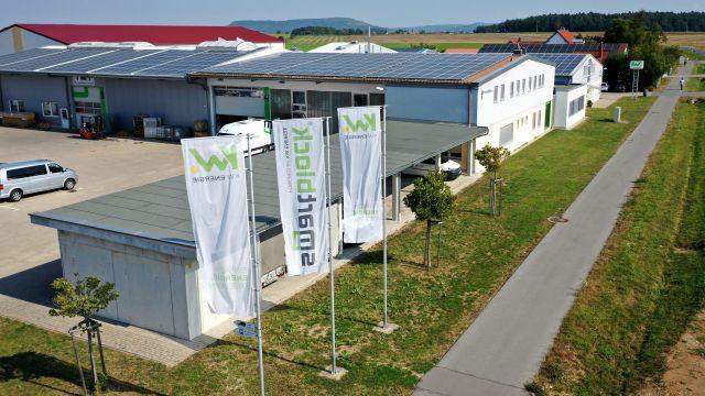 Das Bild zeigt den Firmenkomplex.