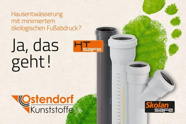 Mit Ostendorf Kunststoffe im trockenen stehen.