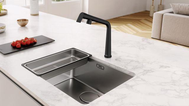 Das Bild zeigt die prämierte Küchenarmatur.