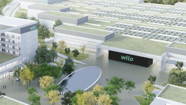 Das Bild zeigt den Wilo-Konzern.