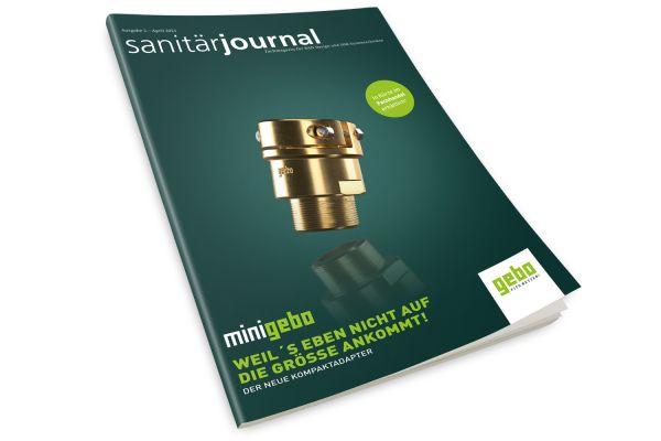 SanitärJournal - Heft 2, April 2021 SanitärJournal - Heft 2/2021