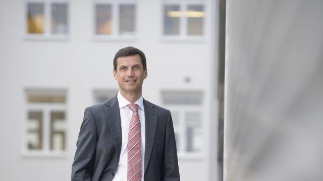 Foto: Thomas Bauer, Mitglied der Geschäftsführung von Bosch Thermotechnik für Vertrieb und Marketing.