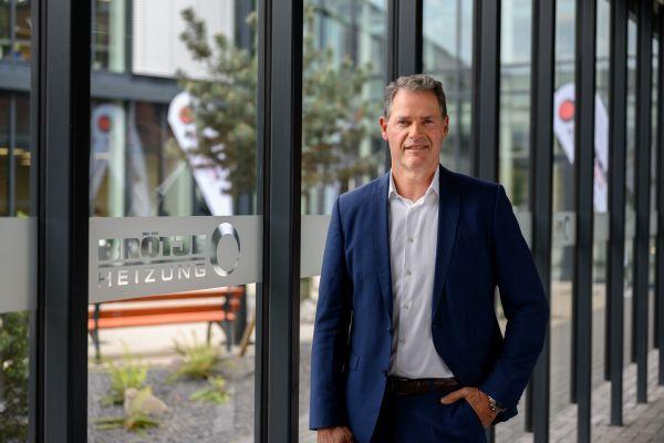 Heinz-Werner Schmidt, Geschäftsführer von BDR Thermea Deutschland.