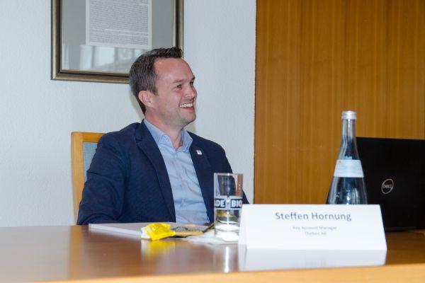 """Steffen Hornung, Key Account Manager, Business Unit – Smart Energy, Theben AG """"Ohne Digitalisierung keine Energiewende und keine Sektorenkopplung. Da ziehen alle Marktbeteiligten an einem Strang"""""""