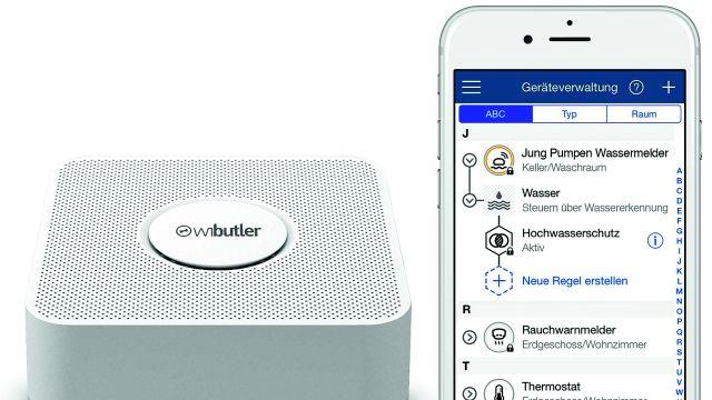 Plattform wibutler, Geräteverwaltung