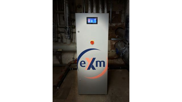 """Foto: """"eXergiemaschine"""" von varmeco macht im """"Früh am Dom"""" die Abwärme der Kälteanlagen für die Warmwasserbereitung nutzbar."""
