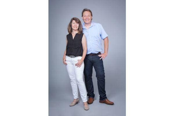 Sabine Gautsch, zuständig für die Kundenbetreuung, mit Geschäftsführer Gerold Gautsch.