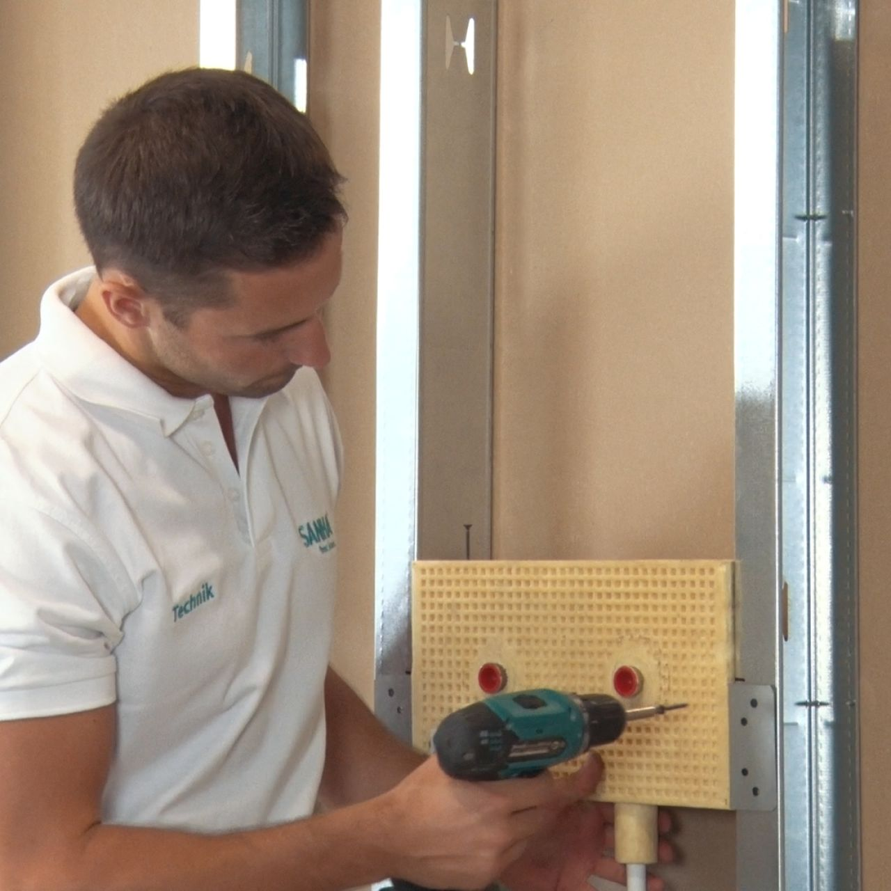 Sanitärobjekte rasch installieren