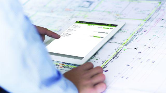 In der Referenz - Rechnungsdarstellung am Tablet: Bei einer ZUGFeRD-Rechnung handelt es sich um ein hybrides elektronisches Rechnungsformat.