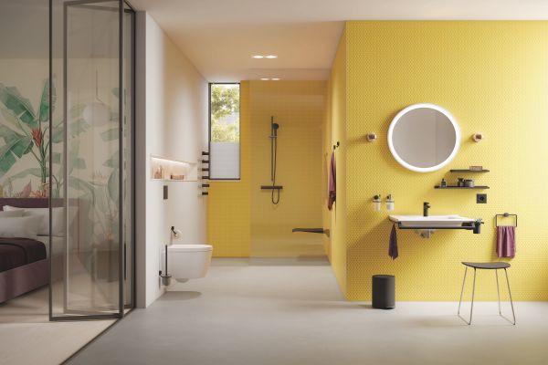 Egal, ob im Hotelbad oder Zuhause - System 815 verleiht jedem Raum einen wohnlichen Charakter.