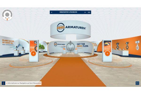 Ebro Armaturen eröffnet virtuellen Messestand