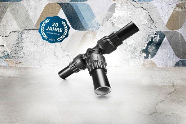 JRG Sanipex MT ist seit 20 Jahren das totraumfreie, ganzheitliche System für hygienisch optimale Rohrverbindungen.