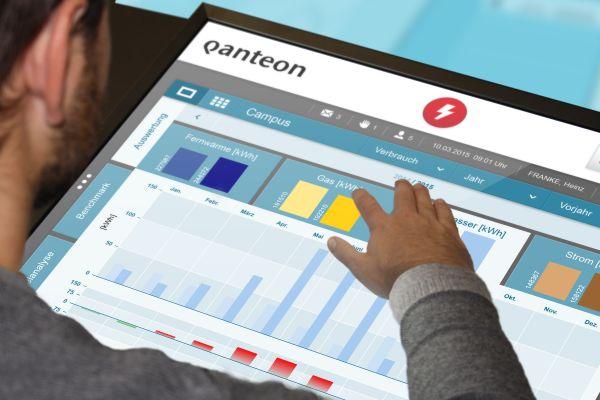 """Die neue Software """"Qanteon"""" für Gebäude- und Energiemanagement"""