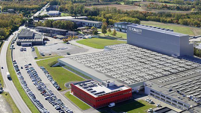 Das Bild zeigt den Firmensitz der Firma Caleffi