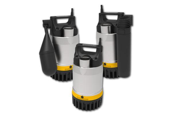 Edelstahlpumpe MultiDrain UV3 macht mobil