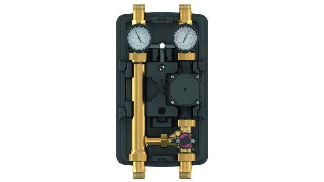 Das Bild zeigt eine Pumpenstation