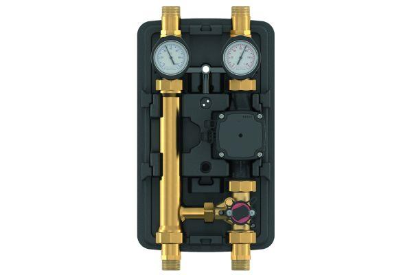 Die geschlossene, diffusionsdämpfende EPP-Vollisolierung sorgt dafür, dass die sensiblen elektronischen Komponenten der Pumpengruppe gekühlt und vor Kondenswasserbildung geschützt sind.