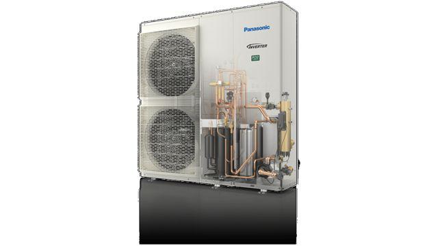 Abbildung: Luft/Wasser-Wärmepumpen T-CAP Monoblock J-Serie von Panasonic Marketing Europe.
