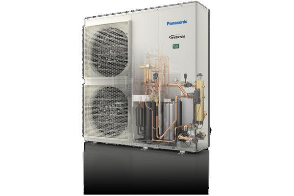 Die neuen Luft/Wasser-Wärmepumpen T-CAP Monoblock J-Serie von Panasonic Marketing Europe.
