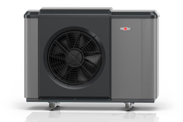 Wolf hat die Luft/Wasser-Wärmepumpe CHA-Monoblock in ihr Portfolio aufgenommen.