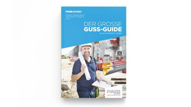Das Bild zeigt das Cover des Guss-Guides.