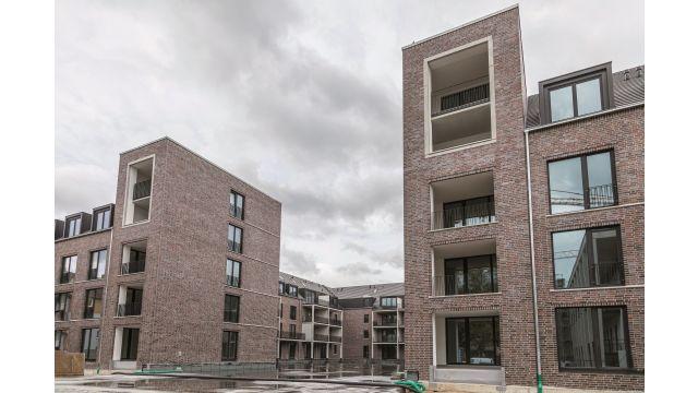 """Mit der Quartiersentwicklung """"Kleefelder Hofgärten"""" in Hannover schafft Theo Gerlach Wohnungsbau in unmittelbarer Nähe zum Stadtwald Eilenriede neue, urbane Lebensräume von bemerkenswerter architektonischer, bautechnischer wie sozio-kultureller Substanz."""