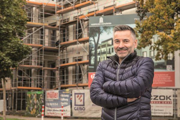 Gerlach-Geschäftsführer Dipl.- Ing. Architekt Helmut Kummer sieht die Zukunft des Bauens in einer sehr engen Kollaboration von Planern, Bauwirtschaft und Industrie.