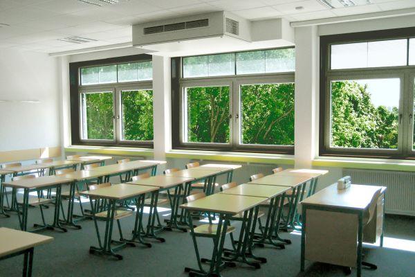 Förderung neuer Lüftungsanlagen in Kitas und Schulen