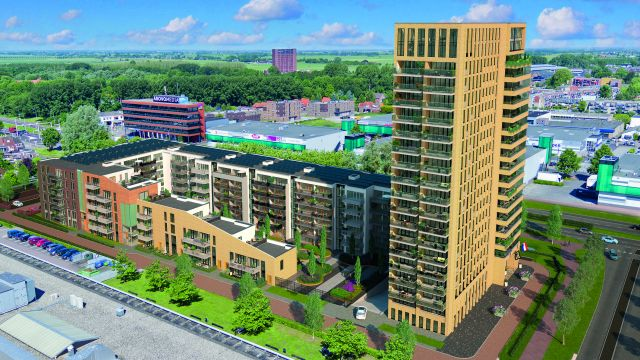"""Abbildung: Der Wohnkomplex """"Toren"""" wurde bis ins letzte Detail mit Open-BIM geplant."""