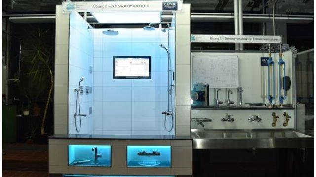 Das Bild zeigt das Labor.
