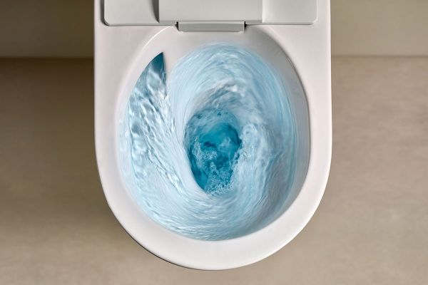 AXENT.Infinity Flush ist die wahrscheinlich effizienteste Spültechnologie.